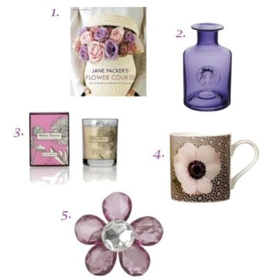 5 Flower-Inspired Christmas Gifts