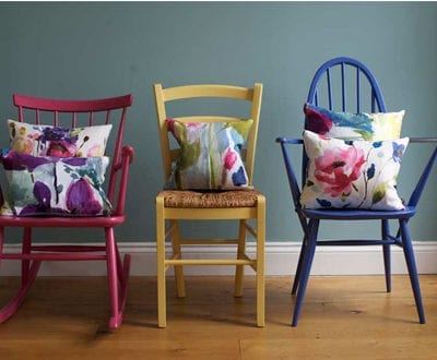 Introducing textile designer, Fiona Douglas of Bluebellgray…