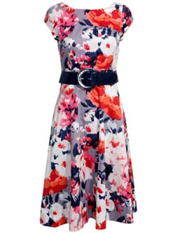 Beautiful floral frocks from Monsoon's new spring/summer 2011 collection