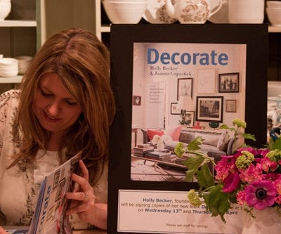 Holly Becker from Decor8 – Book Launch at Liberty in London : Part 1