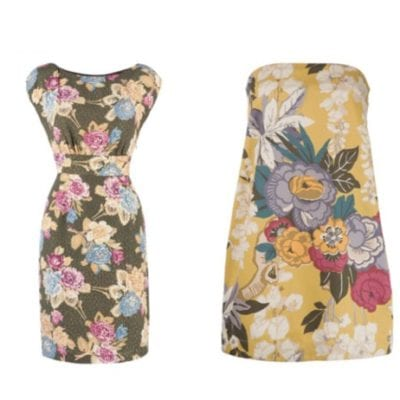 Beautiful floral frocks from Joules
