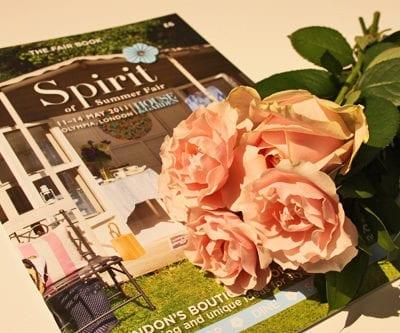 Floristry workshop by Simon Lycett at the Spirit of Summer Fair