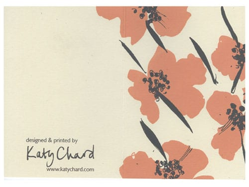 Introducing designer, Katy Chard…
