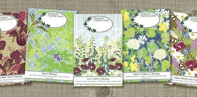 Beautiful floral prints & seed packets from Hannah McVicar