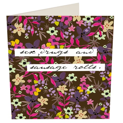 New for 2011 : 'Wise Words' range of cards from Caroline Gardner, plus Q&A