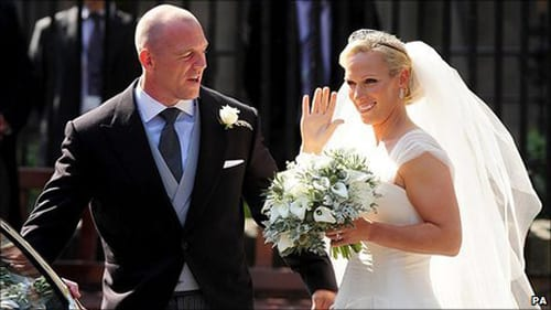 Zara Phillips's bridal bouquet…what did you think?