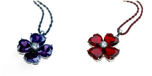 Beautiful floral-inspired jewellery from Jo Magdalena