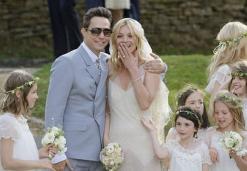 Kate Moss's bridal bouquet…what did you think?