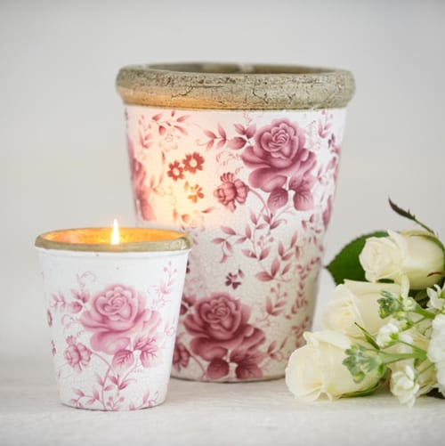 Floral-inspired candles from the St Eval Candle Company