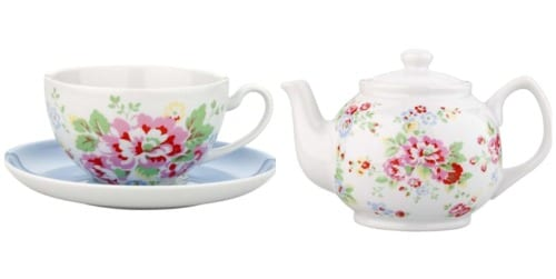 Vintage floral-inspired homeware from Cath Kidston