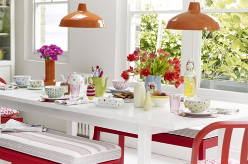 Vintage floral inspired homeware from cath kidston flowerona for Cath kidston kitchen ideas