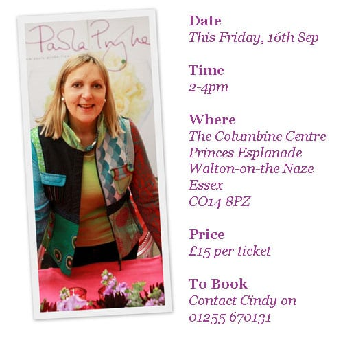 Would you like to see a floristry demo by Paula Pryke?