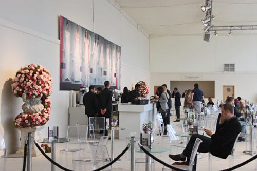 Stunning wedding flowers at the Designer Wedding Show