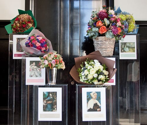 Beautiful art-inspired flower arrangements – a partnership between The National Gallery and Nikki Tibbles of Wild at Heart