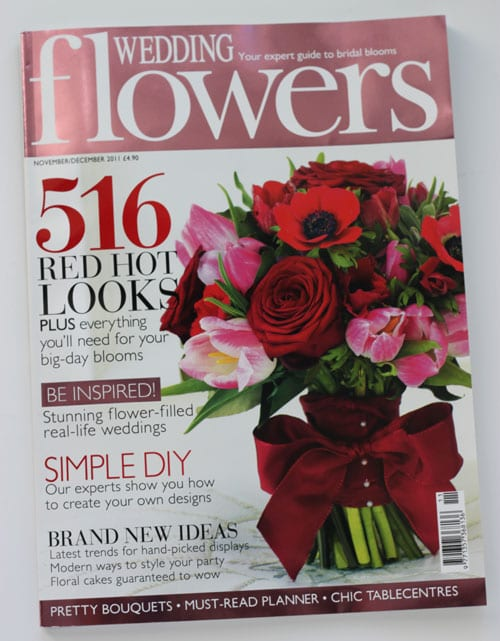 39 Column In The New Edition Of Wedding Flowers Magazine Flowerona