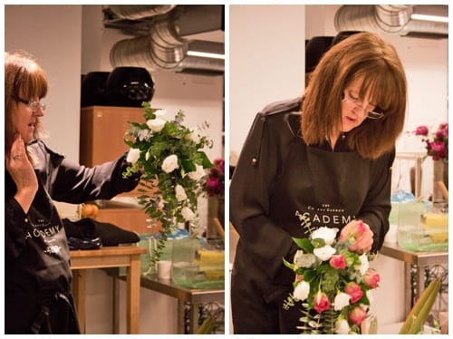 Wedding Flowers course at the Covent Garden Academy of Flowers : Part 2