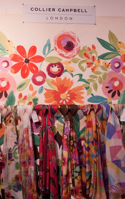 Beautiful floral-inspired lifestyle products from Collier Campbell