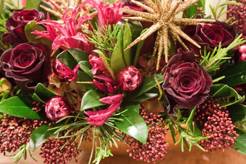 Christmas Preview Event at New Covent Garden Flower Market : Part 2 – David Denyer