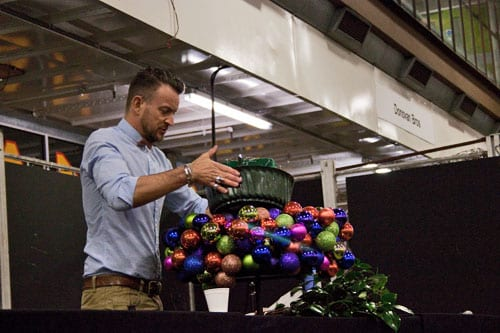 Christmas Preview Event at New Covent Garden Flower Market : Part 1 – Simon Lycett