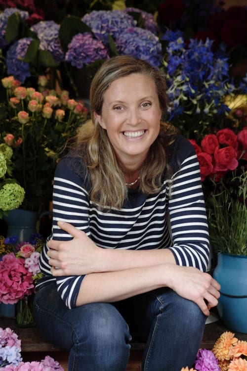 Interview with :   Vic Brotherson, Owner of Scarlet & Violet, a boutique-style florist