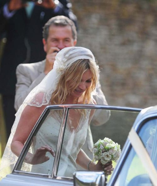 Kate Moss - Wedding Day