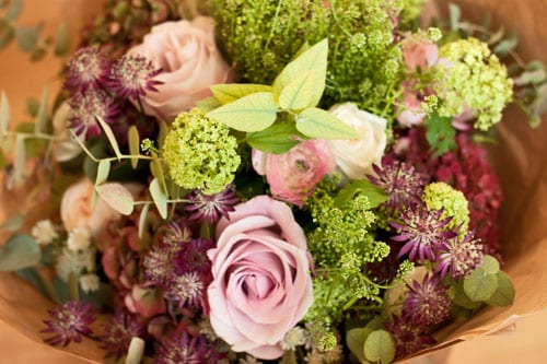Beautiful bouquet from florist Scarlet & Violet…