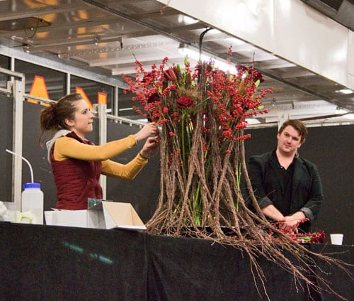 Interview with :   Victoria Richards, Florist