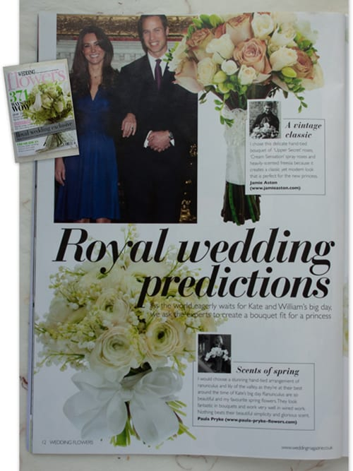 10 Kate S Bridal Bouquet Predictions From Wedding Flowers Magazine