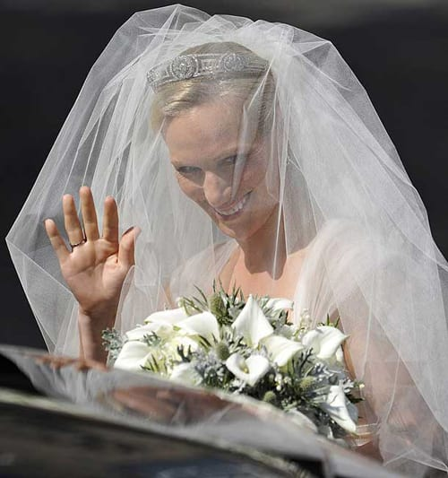 Zara Phillips - Wedding Day