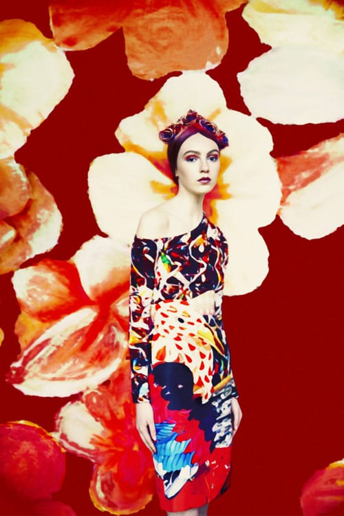 Mary Katrantzou photographed by Erik Madigan Heck