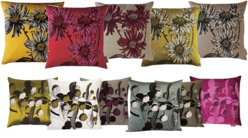 Beautiful floral-inspired interiors range and stationery from Jen Rowland