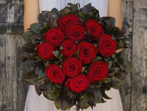 Jane Packer Delivered Valentine's Arrangement - Classic Romance