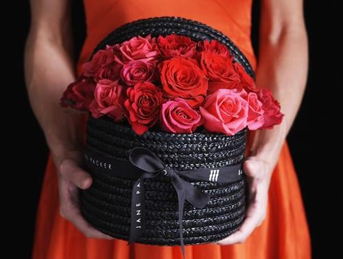 Jane Packer Delivered Valentine's Arrangement - Seductive Rose
