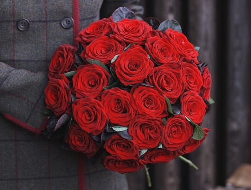 Jane Packer Delivered Valentine's Arrangement - True Romance