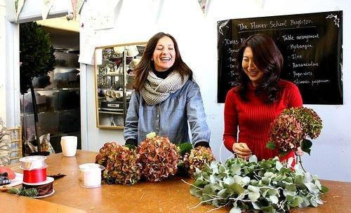 The-Flower-School-Brighton-Vicki-and-Norie