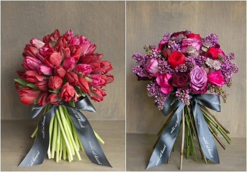 Beautiful Valentine's Day bouquets from Wild at Heart