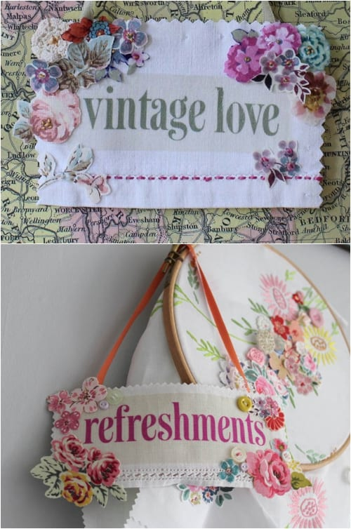 Vicky Trainor The Vintage Drawer - Signs