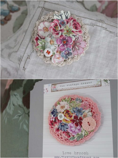 Vicky Trainor The Vintage Drawer - Brooches