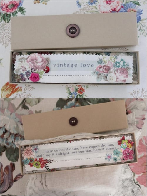 Vicky Trainor The Vintage Drawer - Bookmarks