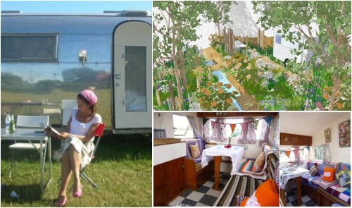 Jo Thompson - A Celebration of Caravanning - RHS Chelsea Flower Show 2012
