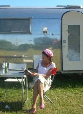 Jo Thompson - Caravanning summer 2010