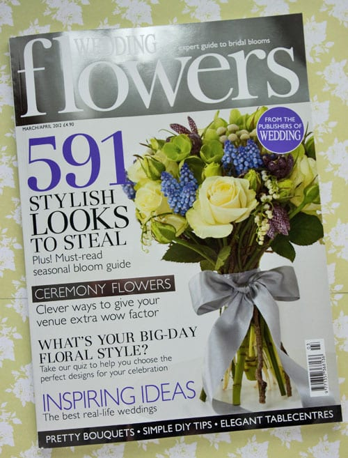 Lovely Column In The New Edition Of Wedding Flowers Magazine