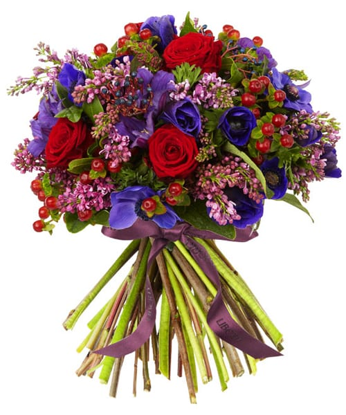 Wild at Heart Valentine's Bouquet Liberty