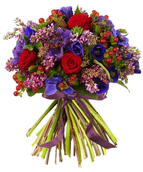 Wild at Heart Valentine's Bouquet Liberty