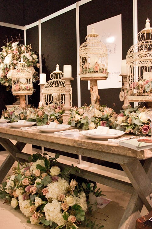 Ricky Pauls Beautiful Wedding Flowers At The Designer Show