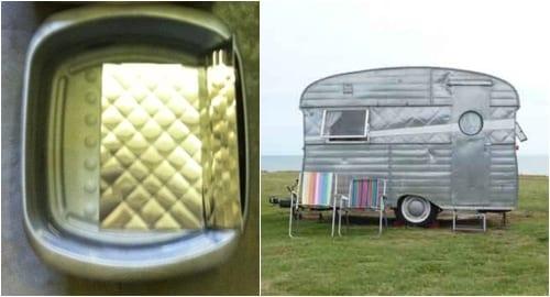 Steel rill & Doris caravan Jo Thompson Chelsea