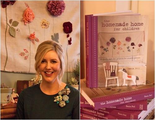 Sania Pell Homemade Home for Children Book