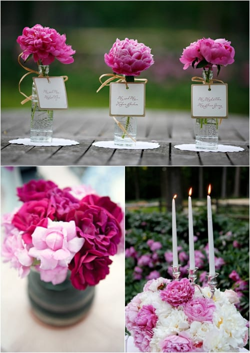 Peonies - Style Me Pretty