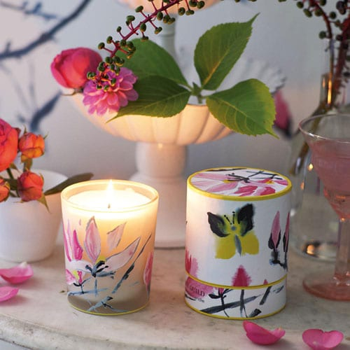Beautiful scented candles by Designer's Guild from Amara