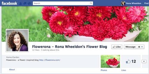 Flowerona-Facebook